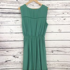 Matilda Jane Dresses - Matilda Jane Down in the Valley Green Maxi Dress